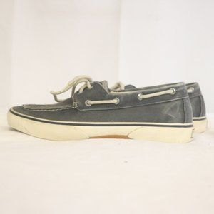 Sperry Top-Sider Men's 10M Canvas Boat Shoes Blue